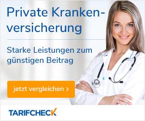 Jetzt private Krankenversicherung vergleichen