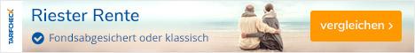 Tarifcheck24.de - Staatlich geförderte Riester Rente